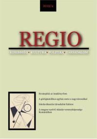 Megjelent a REGIO 2019/4. száma
