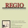 Megjelent a REGIO 2020/1. száma