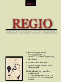 Megjelent a REGIO 2020/4. száma