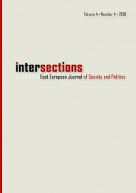 Intersections. East European Journal of Society and Politics Vol 4. No 4 has been recently published!