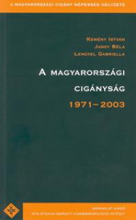A magyarországi cigányság, 1971-2003.